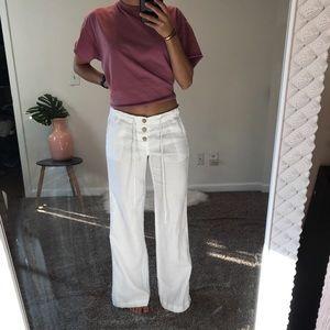 Joie Linen Wide Leg Flowy Pants
